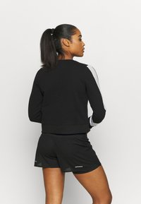 ASICS - COLORBLOCK CREW - Sweatshirt - performance black/mid grey heather - 2