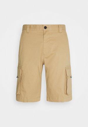 WASHED CARGO - Shorts - classic khaki