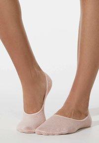 OYSHO - 3 PAIRS HEART - Trainer socks - light pink - 2