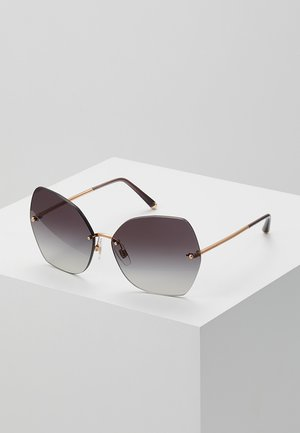 Sunglasses - pink gold