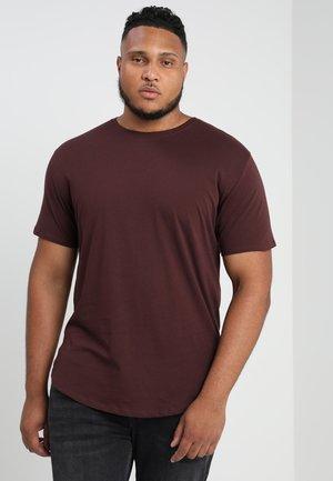 MATT LONGY - Basic T-shirt - fudge