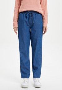 DeFacto - Trousers - blue - 0
