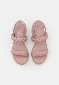 Tamaris - Korkeakorkoiset sandaalit - dusty rose - 5