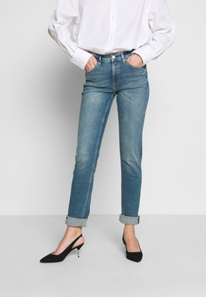 Slim fit jeans - rinsed denim