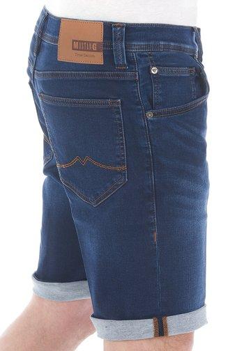 CHICAGO - Denim shorts - dark blue