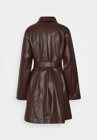 Monki - RORI JACKET - Bunda zumělé kůže - brown - 1