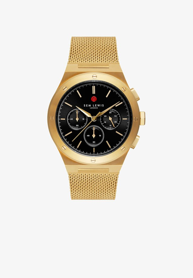 Chronograph watch - gold