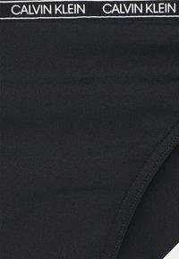 Calvin Klein Swimwear - CORE LOGO TAPEBRAZILIAN - Bikini bottoms - black - 5