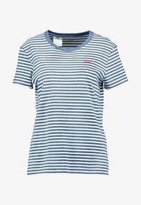 Levi's® - PERFECT TEE - Print T-shirt - raita indigo - 3