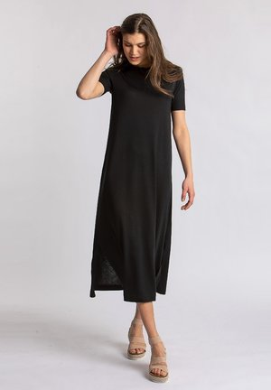 JANNIE - Jersey dress - black