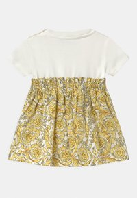Versace - BAROQUE KIDS POPLIN SIGNATURE SET - Jersey dress - white/gold - 1