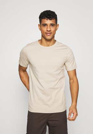 UNISEX GUDMAR - T-shirts med print - beige