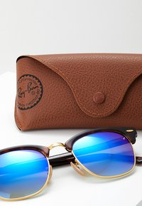 Ray-Ban - CLUBMASTER - Sunglasses - havanablu/flash gradient - 3