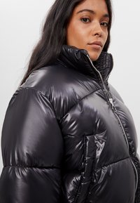 Bershka - Winter jacket - black - 3