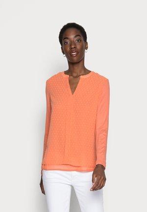 SOLVEIG BLOUSE - Blouse - dull orange