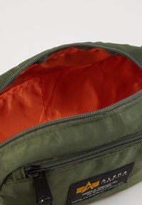 Alpha Industries - CREW WAISBAG - Bum bag - sage green - 5