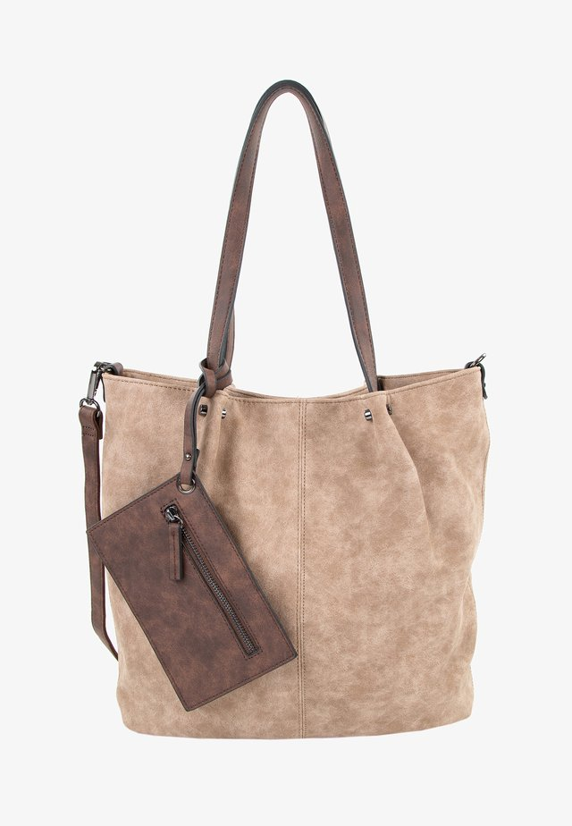 SURPRISE - Bolso shopping - taupe brown 902