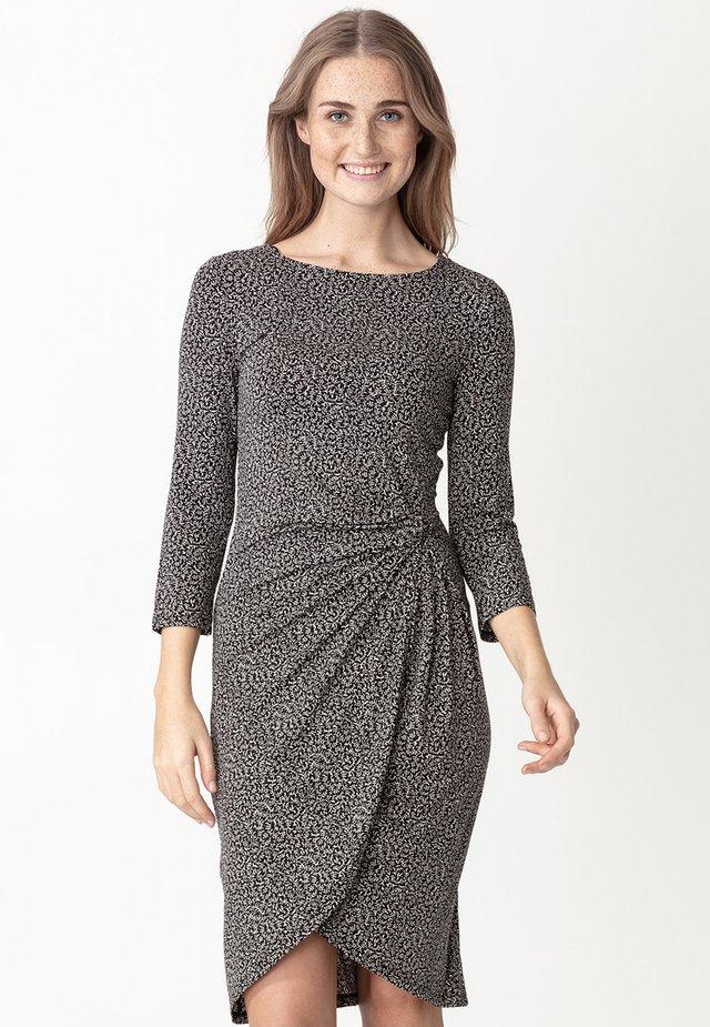 LOULOU - Sukienka z dżerseju - black