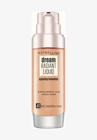 Maybelline New York - DREAM RADIANT LIQUID MAKE-UP - Foundation - 41 warm beige - 0