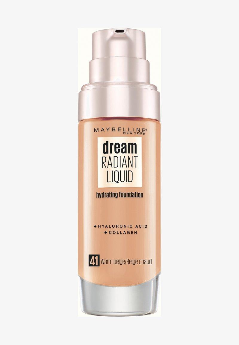 Maybelline New York - DREAM RADIANT LIQUID MAKE-UP - Foundation - 41 warm beige