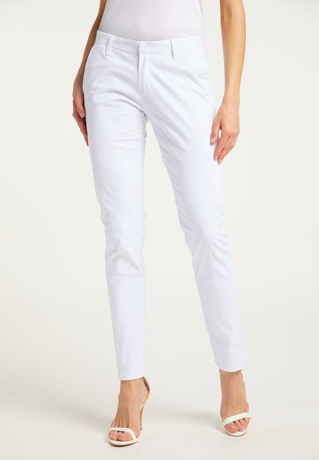 Pantalon classique - weiss
