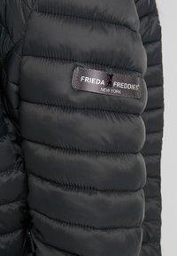 Frieda & Freddies - JACKET - Light jacket - anthracite - 5