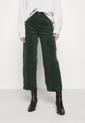 WIDE LEG - Trousers - pine grove
