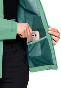 Jack Wolfskin - EVANDALE  - Outdoor jacket - pacific green - 4