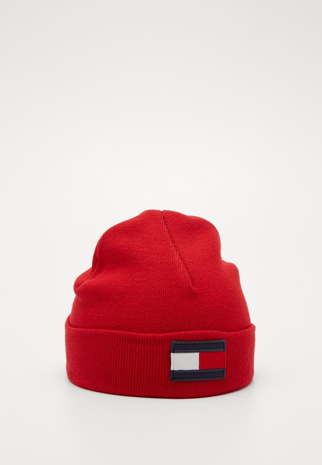 BIG FLAG BEANIE - Berretto - red