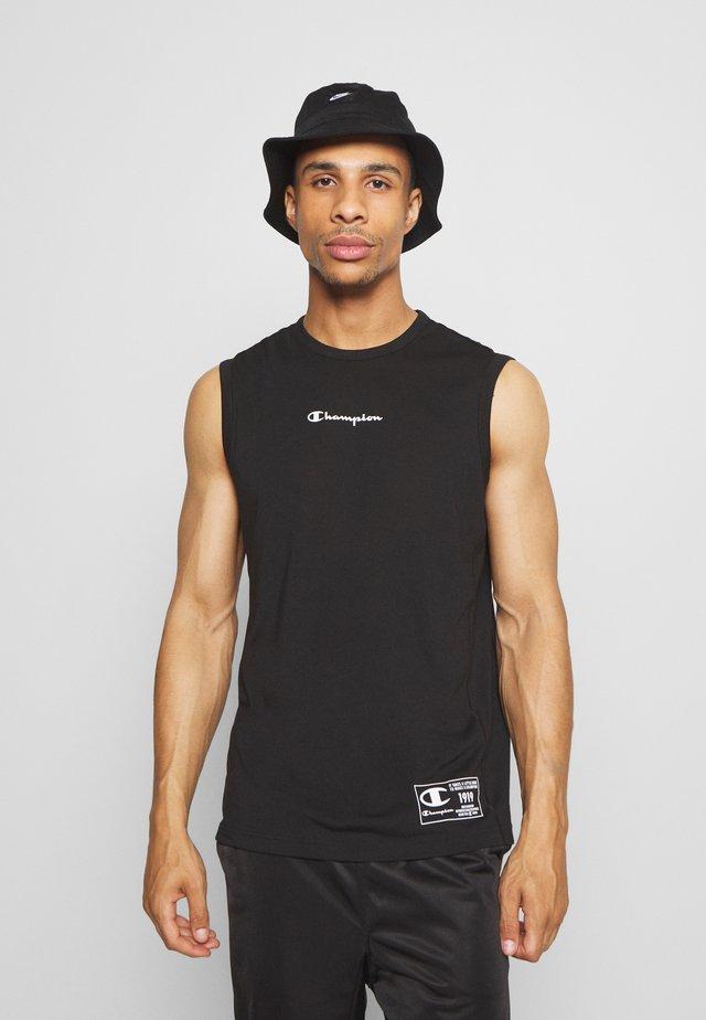 LEGACY TRAINING CREWNECK SLEEVELESS - T-shirt de sport - black