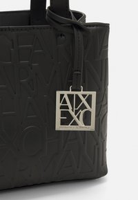 Armani Exchange - SMALL OPEN SHOPPING - Handbag - black - 4