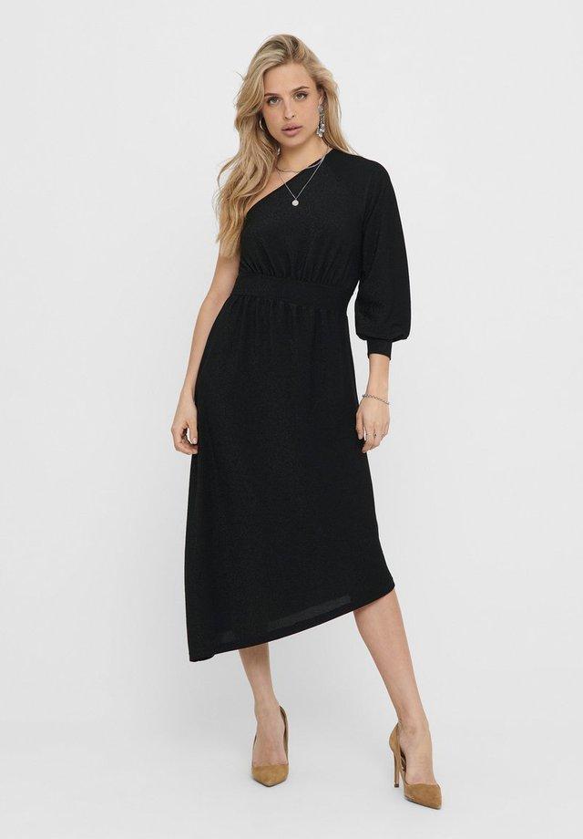 ONE SHOULDER - Sukienka koktajlowa - black