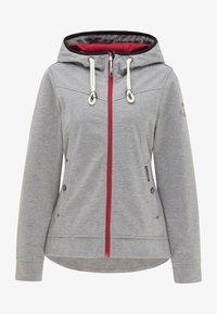 Schmuddelwedda - Zip-up hoodie - grau melange - 5