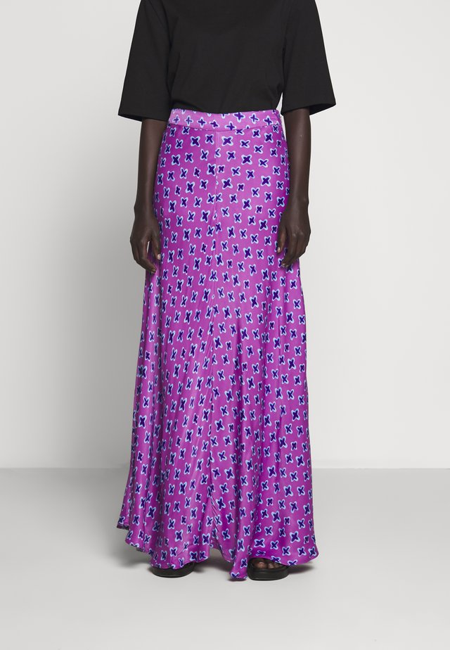LUIS SKIRT - Gonna lunga - lilac