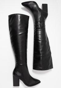 Even&Odd - Laarzen met hoge hak - black - 3