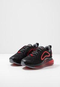 Nike Sportswear - AIR MAX 720 - Sneakers basse - black/university red/white - 3