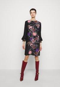 Alberta Ferretti - ABITO - Day dress - black - 0