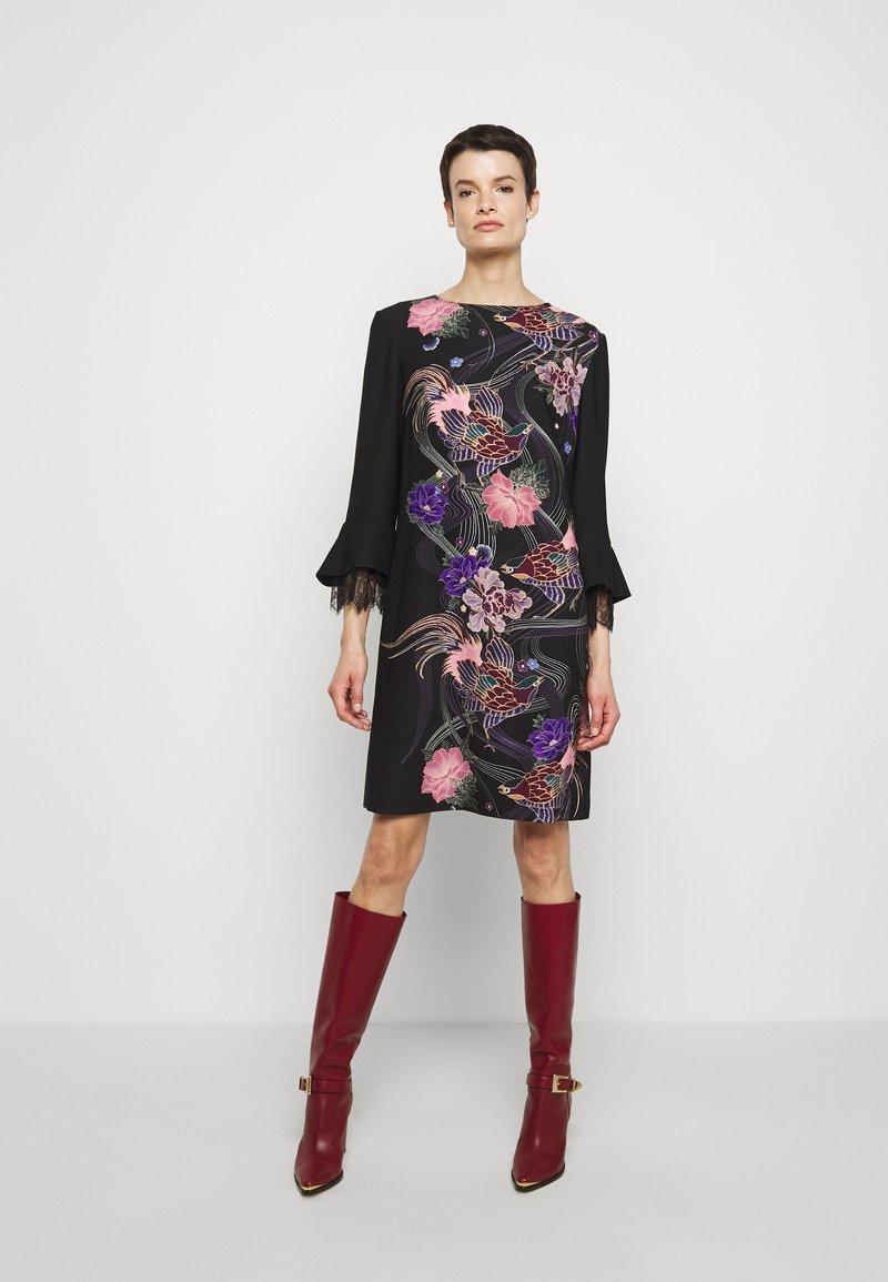 Alberta Ferretti - ABITO - Day dress - black