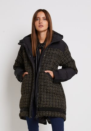 GIANMARIA QUILTED COAT - Winterjas - black