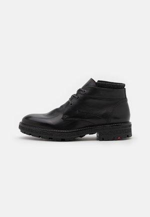 ONDO - Lace-up ankle boots - schwarz/darkgrey