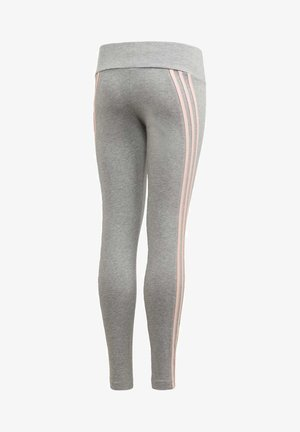 STRIPES COTTON LEGGINGS - Collant - grey