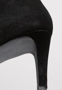 PERLATO - Højhælede støvletter - noir - 2