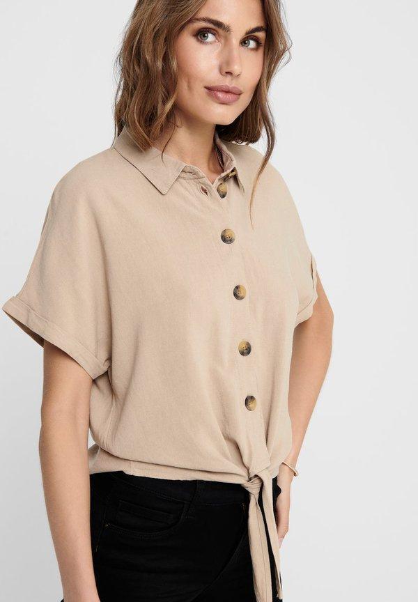ONLY Koszula - humus/beżowy CXTO