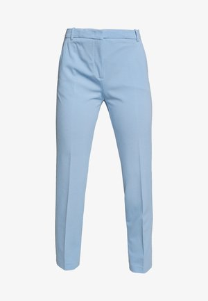 BELLO PANTALONE PUNTO STOFF - Spodnie materiałowe - azzurro fascino