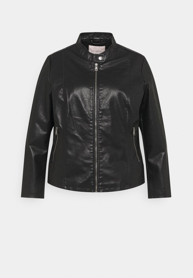 CARMELISA JACKET - Giacca in similpelle - black