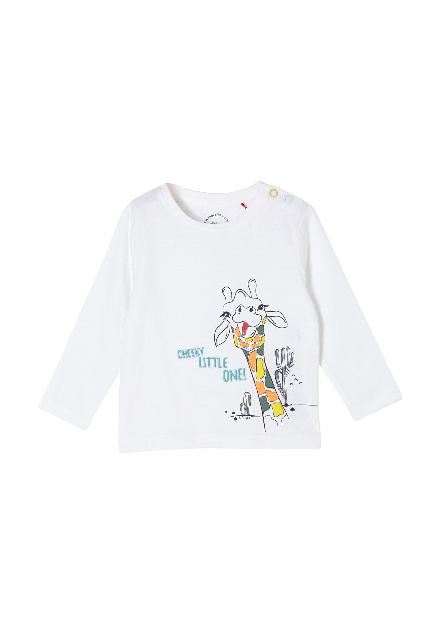 Kinder MIT GIRAFFEN-PRINT - Langarmshirt