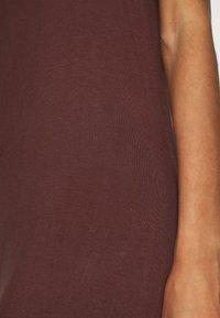 Zign - Vestito di maglina - brown - 5