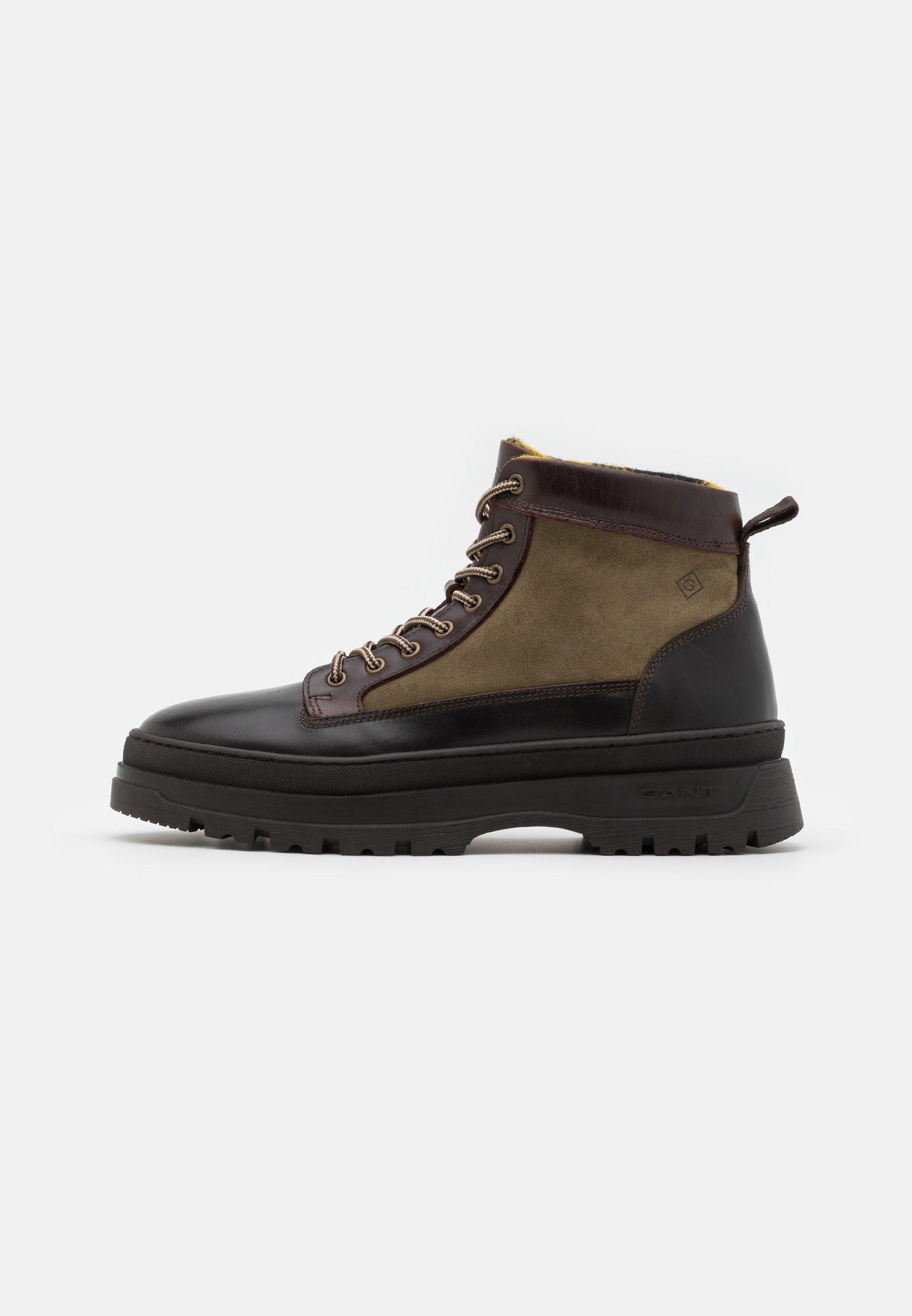 Men GRIP - Lace-up ankle boots