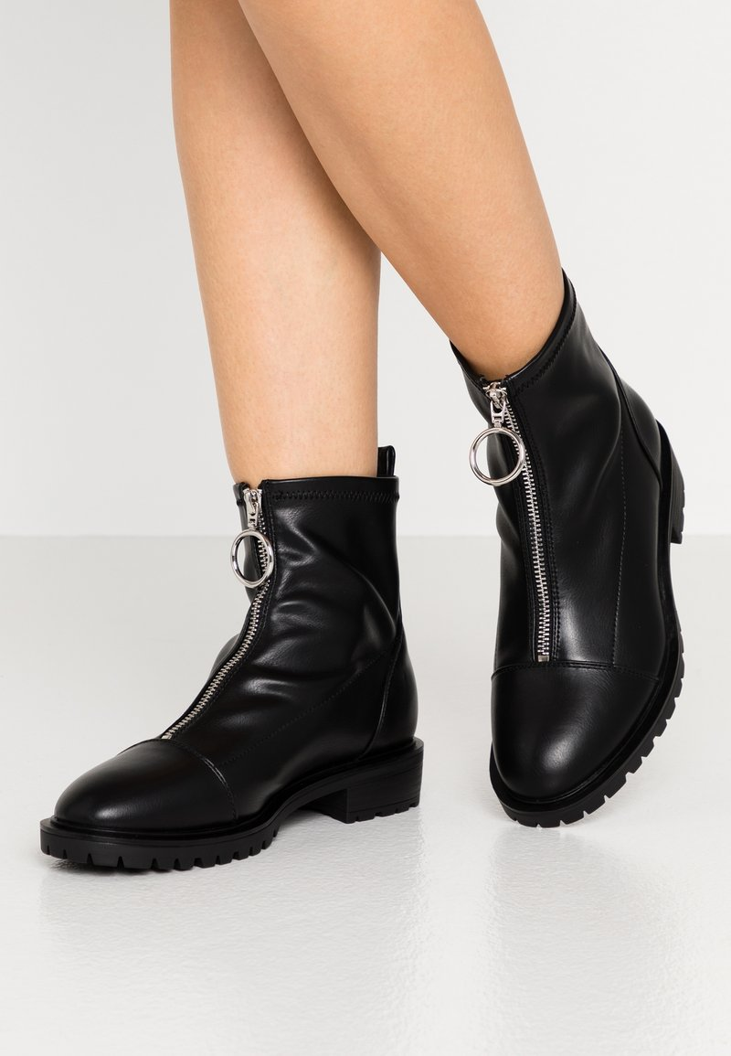 Even&Odd Wide Fit - WIDE FIT - Classic ankle boots - black