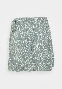 Vero Moda - VMLIVA MINI WRAP SKIRT - Mini skirt - laurel wreath/liva - 6
